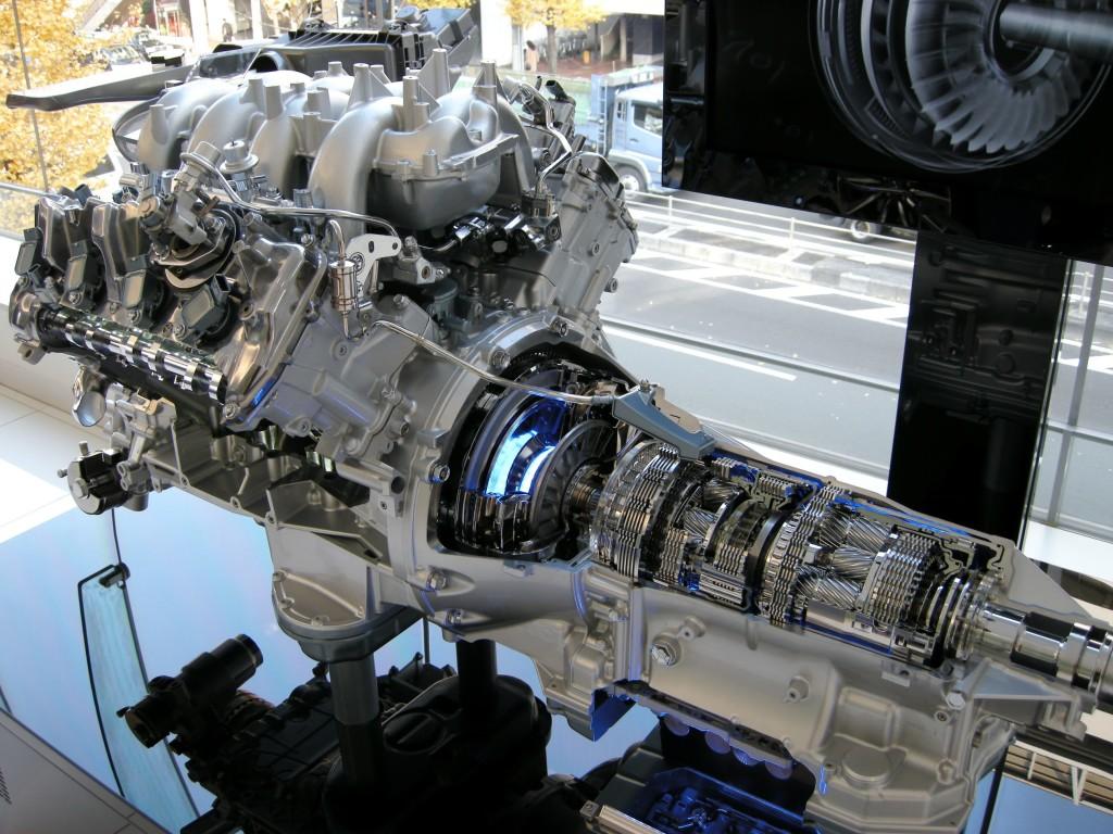 Lexus transmission